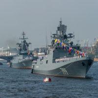 День Военно-морского флота в Кронштадте 28 июля 2019 года